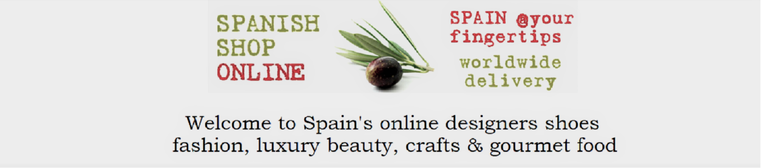 SPANISH SHOP ONLINE | Spain @ your fingertips